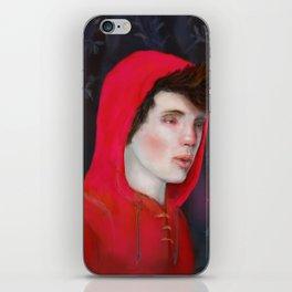 A Red Night iPhone Skin