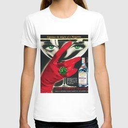 1962 Jose Cuervo Tequila 'Green Motif' Advertisement Poster T-shirt
