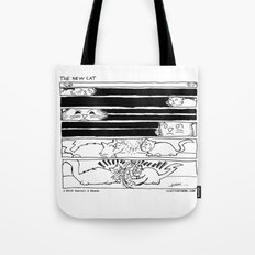 The New Cat Tote Bag