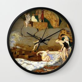 Rock Of Trestrignel - Digital Remastered Edition Wall Clock