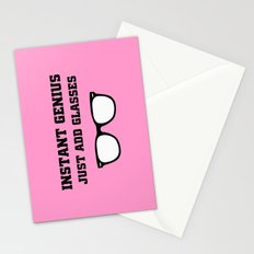 Geek Glasses Stationery Cards
