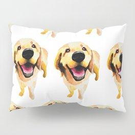 Good Boy / Yellow Labrador Retriever dog art Pillow Sham