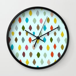 PIPS baby aqua Wall Clock