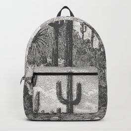 Cactus in Mountain Backpack