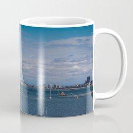 St Kilda Sail Boats Coffee Mug