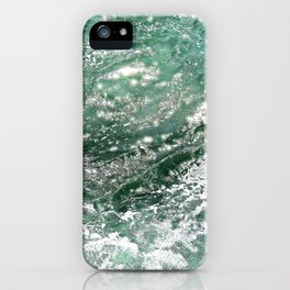 Emerald Water iPhone Case