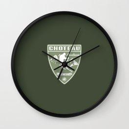 Ski Choteau Montana Wall Clock