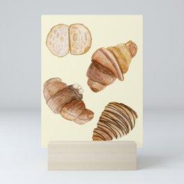Croissants Mini Art Print