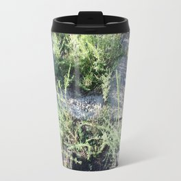 On the boardwalk Travel Mug