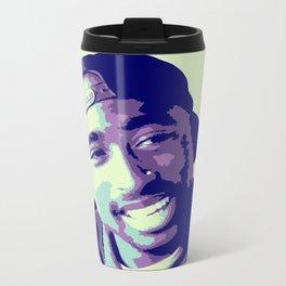 Tupac Metal Travel Mug