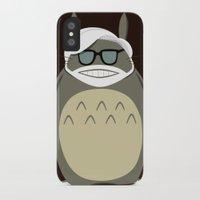 miyazaki iPhone & iPod Cases featuring Miyazaki Tribute by Kororo