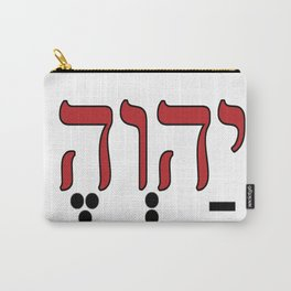 God is Elohim Carry-All Pouch