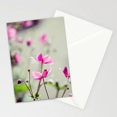 Pink Anemones Stationery Cards