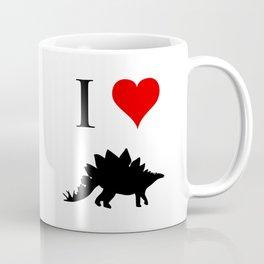 I Love Dinosaurs - Stegosaurus Coffee Mug