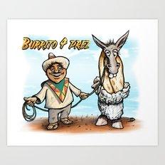 Burrito 4 Prez Art Print