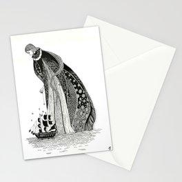 Gothic Sea Goddss Stationery Cards