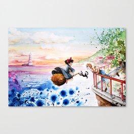 """Three friends"" Canvas Print"