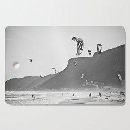 Windsurfers having fun on the Atlantic Ocean - Landscape Photography #Society6 Cutting Board
