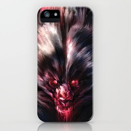Beware the Werebear! iPhone Case