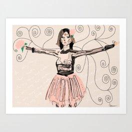 Bionica Art Print