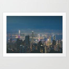 Hong Kong View III Art Print
