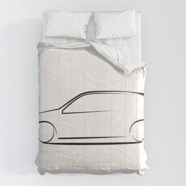 Clio silhouette Comforters