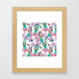 Woodland Fairy Framed Art Print