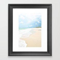 Paradise Shore Framed Art Print