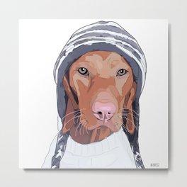 Vizsla Dog Metal Print