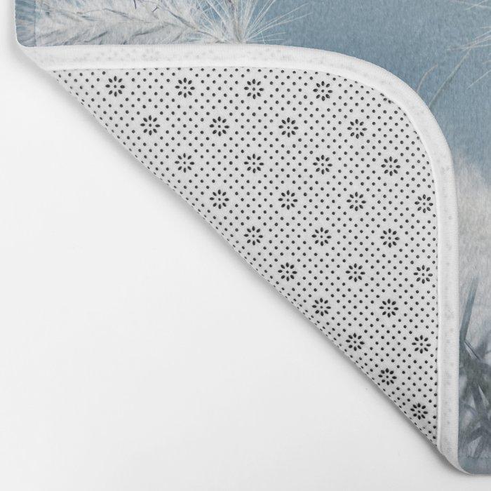 the art of a soft landing Bath Mat