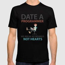 Date A Programmer T-shirt