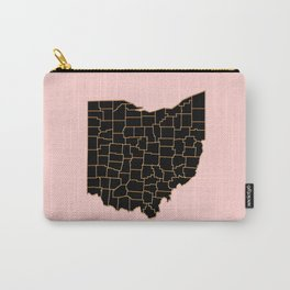 Ohio map Carry-All Pouch