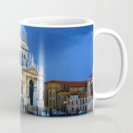 Evening at the Santa Maria della Salute Coffee Mug
