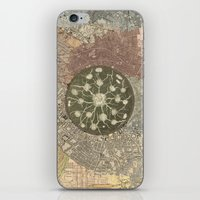 maps iPhone & iPod Skins featuring maps by INEPTUNE