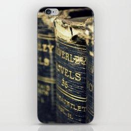 Waverly Novels Vintage Books iPhone Skin