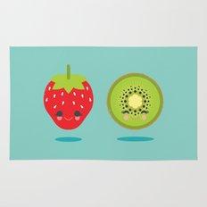Strawberry Kiwi Rug