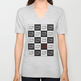 Yuck Fou! Multiples Unisex V-Neck