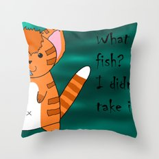 What fish ? Throw Pillow