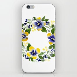 You're Such A Pansy iPhone Skin