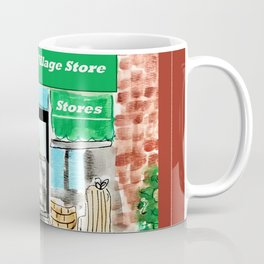 Old English Village Store Coffee Mug