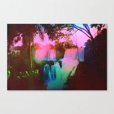 Plastic Jungle Canvas Print