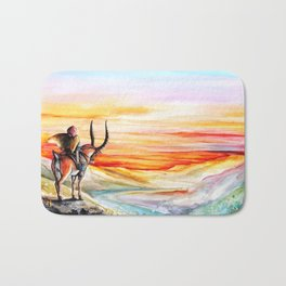 """Sunset"" Bath Mat"