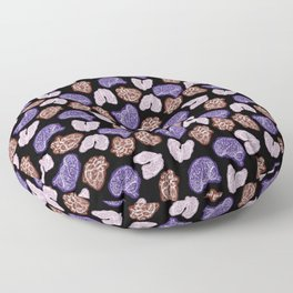 Lung Heart Brain - Color Floor Pillow