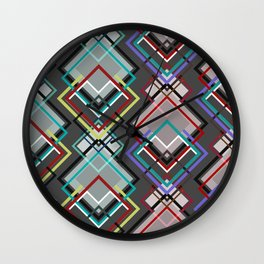 Diamonds + Wall Clock