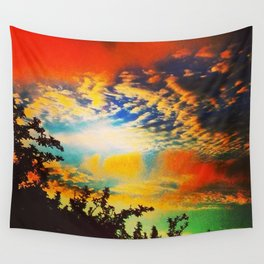 Popsicle Sky Wall Tapestry