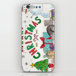 Christmas Card! iPhone Skin