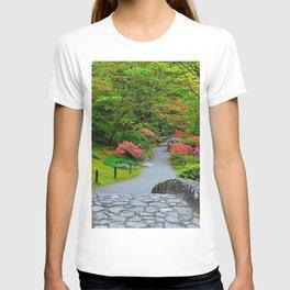 Photo Seattle USA The Kubota Washington Nature Gardens T-shirt