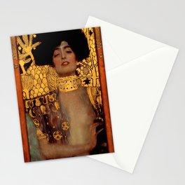 """Gustav Klimt """"Judith I"""", 1901 Stationery Cards"""