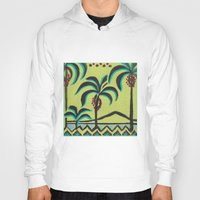 palm trees Hoodies featuring Palm Trees by Abundance