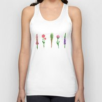plants Tank Tops featuring Plants by Clementine Losey